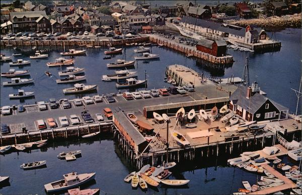 Rockport Harbor and Bearskin Neck Massachusetts