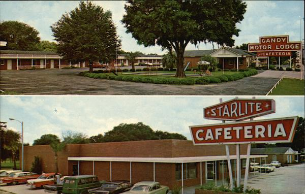 Gandy Motor Lodge and Starlite Cafeteria Perry Florida