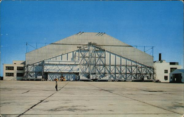 The Air Proving Ground Command's Climatic Hanger Eglin Air Force Base Florida