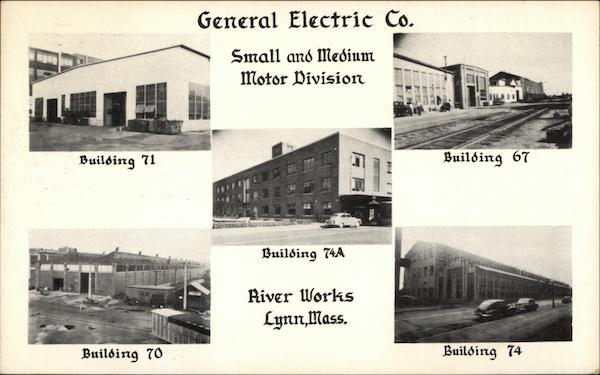 General Electric Co. Small and Medium Motor Division Lynn Massachusetts