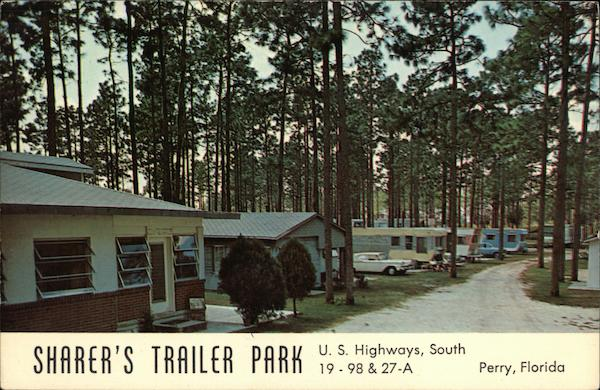 Sharer's Trailer Park Perry Florida