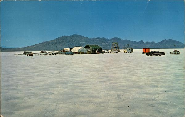 Bonneville Salt Flats World's Fastest Speedway Wendover Utah
