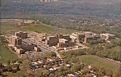 Aerial View of the Medical Center