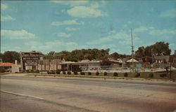 Town House Motor Lodge Postcard