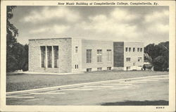 New Music Building of Campbellsville College