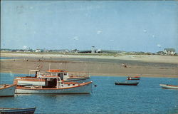 Beach and Fishing Boats