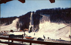 The Dartmouth Skiway from Brundage Lodge