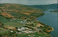 Mascoma Valley And Center Of Light La Salette