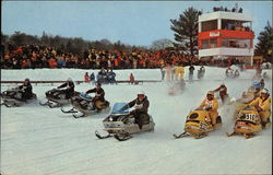 Championship Skimobile Racing in New Hampshire
