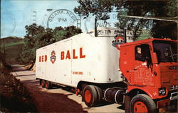 Red Ball Moving