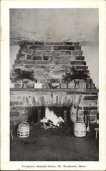 Fireplace, Summit House