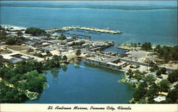 Aerial View of St. Andrews Marina