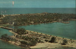 Aerial View of Foster Memorial Park and Palm Beach Shores