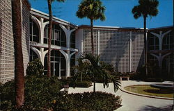 Our Lady of Florida Monastery & Retreat House - Cloister Garden Postcard