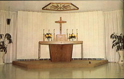 Our Lady of Florida Monastery Chapel Postcard