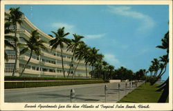 Swank Apartments at Tropical Palm Beach, Florida