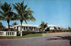 Malibo Apartments Postcard