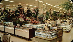 Scene from Hess's Department Store International Flower Show
