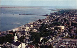 Provincetown From Top of Pilgrim Monument