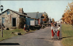 Street Scene, Old Museum Village of Smith's Clove