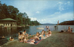 Public Dock - Lake Sunapee