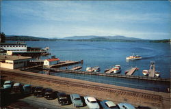 Lake Winnipesaukee from The Weirs Postcard