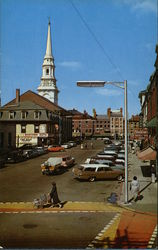 A View on Pleasant Street Postcard