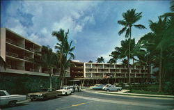 Front View of Beautiful Dorado Hilton Hotel Postcard