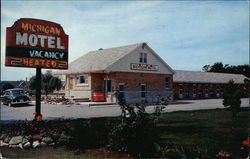 Michigan Motel Postcard