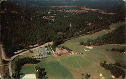 Airview of the Pinehurst Country Club
