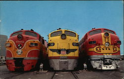 Streamliners Lined Up for Departure