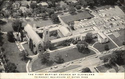 Aerial View of First Baptist Church of Cleveland