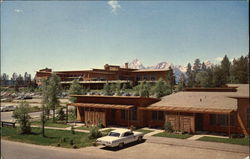 Cottages at Jackson Lake Lodge Postcard