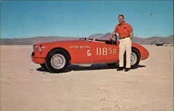 Oxford Motors Car on Bonneville Salt Flats