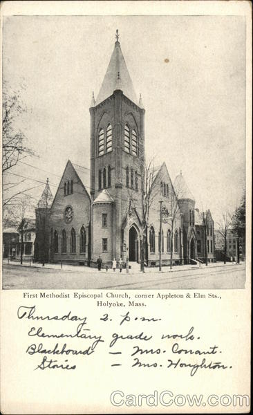 First Methodist Episcopal Church Holyoke Massachusetts