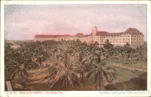 Hotel Royal Poinciana Palm Beach Florida