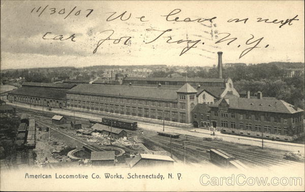 American Locomotive Co. Works Schenectady New York