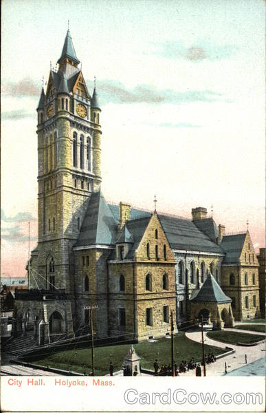 City Hall Holyoke Massachusetts