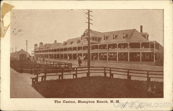 The Casino Hampton Beach New Hampshire