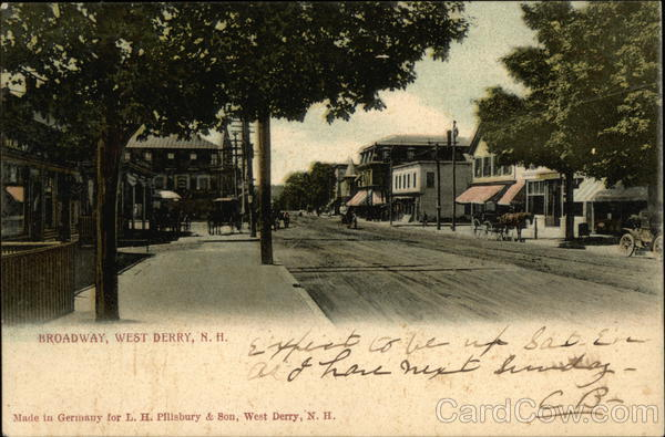 Broadway West Derry New Hampshire