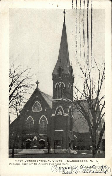 First Congregational Church Manchester New Hampshire