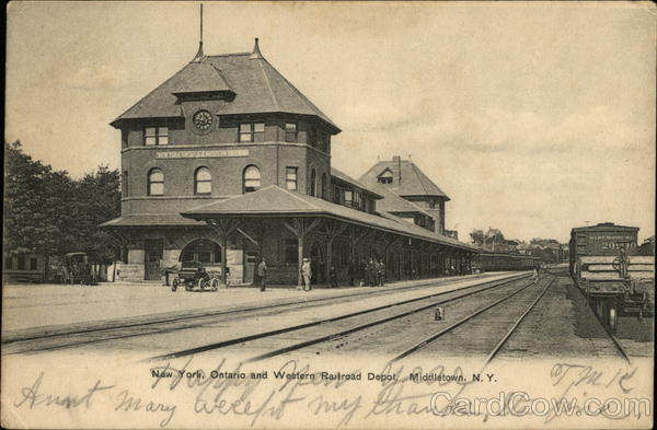New York, Ontario and Western Railroad Depot Middletown