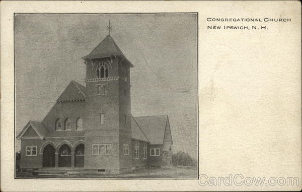 Congregational Church New Ipswich New Hampshire