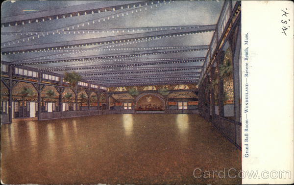 Grand Ball Room - Wonderland Revere Beach Massachusetts