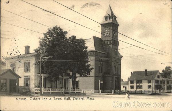 Oxford Inn & Town Hall Massachusetts