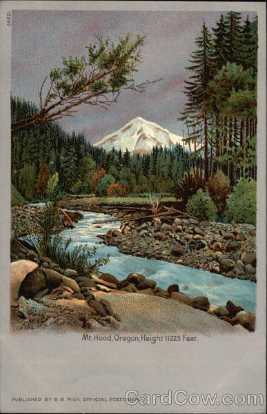 Mt. Hood Oregon 1905 Lewis & Clark Exposition