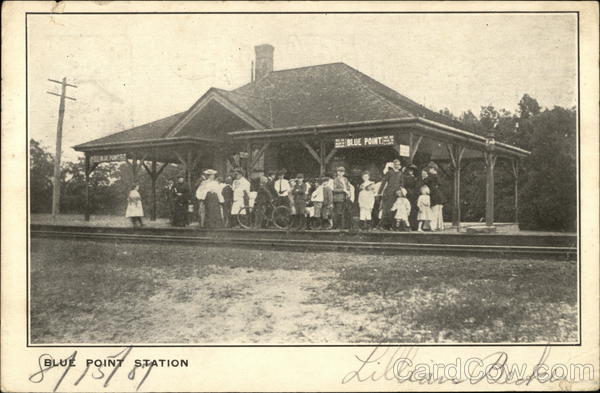 Blue Point Station Long Island New York Depots
