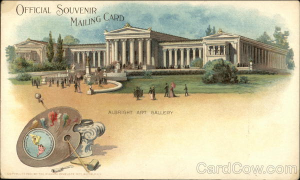 Albright Art Gallery Buffalo New York 1901 Pan American Exposition
