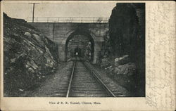 View of R.R. Tunnel