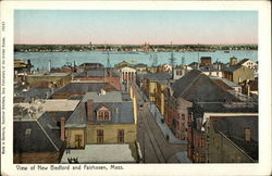 View of New Bedford and Fairhaven